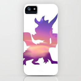 Spyro Lofty Castle Skybox iPhone Case