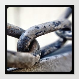 Chains. Canvas Print