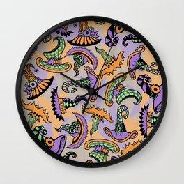 Mad Hatties Wall Clock