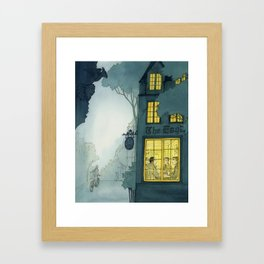 Inklings In Oxford Framed Art Print