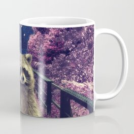 Cherry raccoon Coffee Mug
