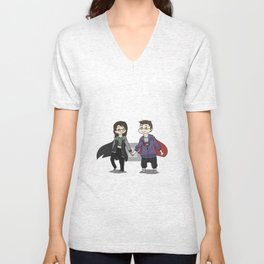 Me and You Unisex V-Neck