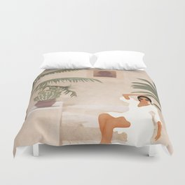 Graceful Resting II Duvet Cover