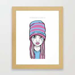 El Bocho · Berlin Street Art Framed Art Print
