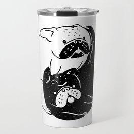 The Tao of French Bulldog Travel Mug