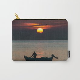 Sunrise Boat! Carry-All Pouch
