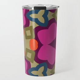 Flower-Caleidoscope Travel Mug