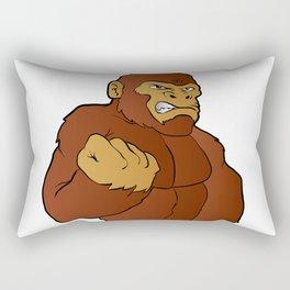 cartoon gorilla Rectangular Pillow