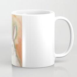 Portrait of a White Rabbit Coffee Mug