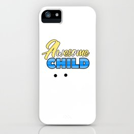 Relatives Family Kinship Ancestry Household Love Bloodline Ancestry Awesome Child Gift iPhone Case