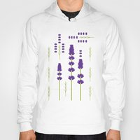 lavender Hoodies featuring Lavender by Alysha Dawn