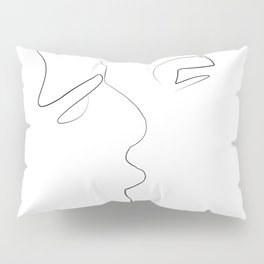 Lovers-Minimlism Pillow Sham