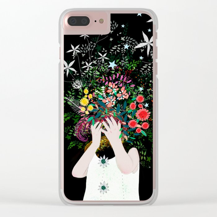 growing Clear iPhone Case