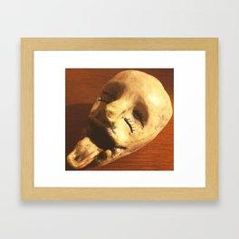 Massacre Head  Framed Art Print