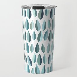 Mid-Century Modern Leaf pattern Collection 3 Travel Mug