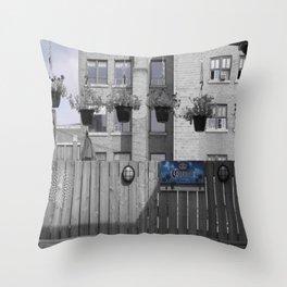 Rooftop Throw Pillow