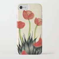 kenzo iPhone & iPod Cases featuring Eau de i; Kenzo Flower by Fhil Navarro