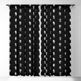Famous Presidents Pattern Blackout Curtain
