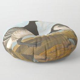 Barnacle Goose Floor Pillow