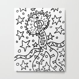 Monster dude Metal Print