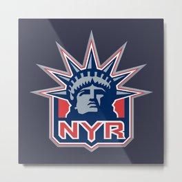 New York Ranger Metal Print
