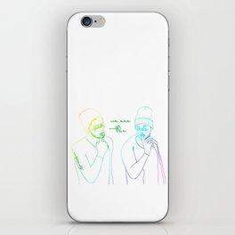 Rainbow Ziam iPhone Skin