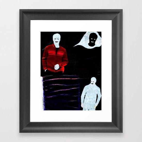 Communication misleading Framed Art Print