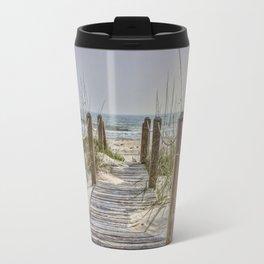 Walkway to Beach Travel Mug