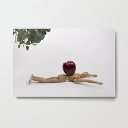 Felled by the Low Hanging Fruit Metal Print