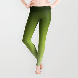 Olive ,green , Ombre Leggings