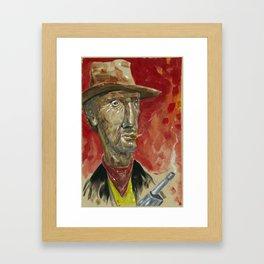 Lucky Luke Framed Art Print