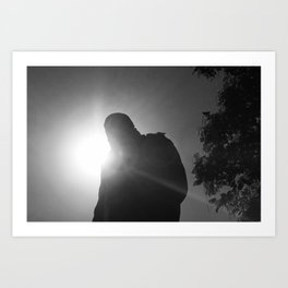In the shadow of Churchill Art Print