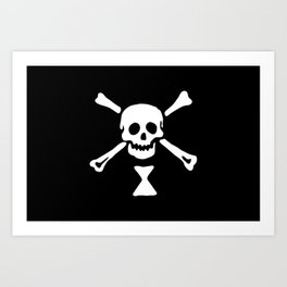 Emanuel Wynne Pirate Flag Jolly Roger Art Print