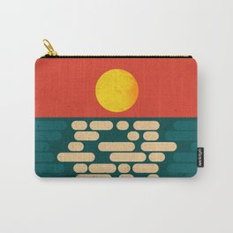 Sun Over The Sea - Afternoon Carry-All Pouch
