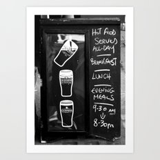 Liquid Lunch Art Print