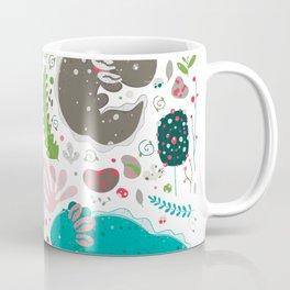 Axolotl Pattern Coffee Mug