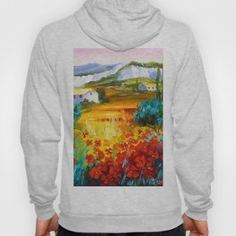 Summer in the mountains Hoody