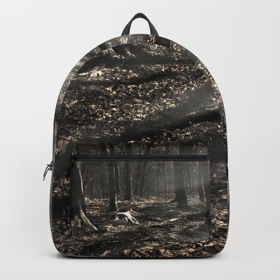 Blair Witch....over there! Backpack