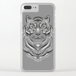 Panthera Tigris Sondaica Clear iPhone Case