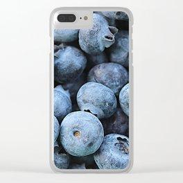 Breakfast Blues Clear iPhone Case
