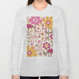 Garden Cat Long Sleeve T-shirt