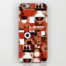 Coffee Story iPhone & iPod Skin