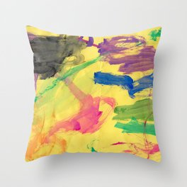 Opportunity Watercolor Throw Pillow