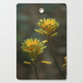 Yellow Blossoms Cutting Board