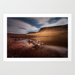 Llyn y Fan Fach Mountain Art Print