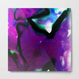 Abstract Bliss 2K by Kathy Morton Stanion Metal Print