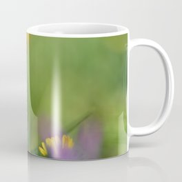 Purple, yellow and green bokeh Coffee Mug