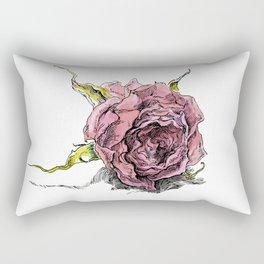 dried rose Rectangular Pillow