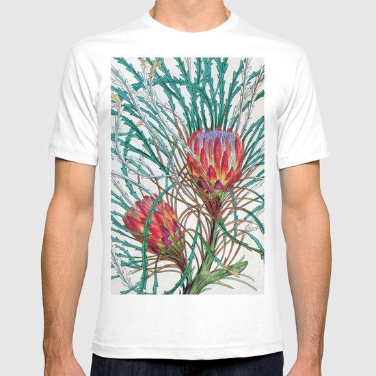 A Protea flower T-shirt
