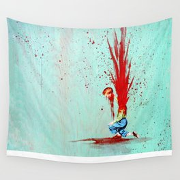 I Give to you, my Head Wall Tapestry